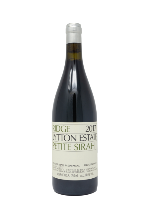 Ridge 'Lytton' Estate Petite Sirah