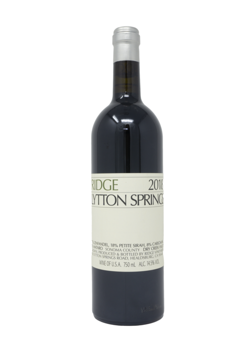 Ridge Vineyards 'Lytton Springs' magnum